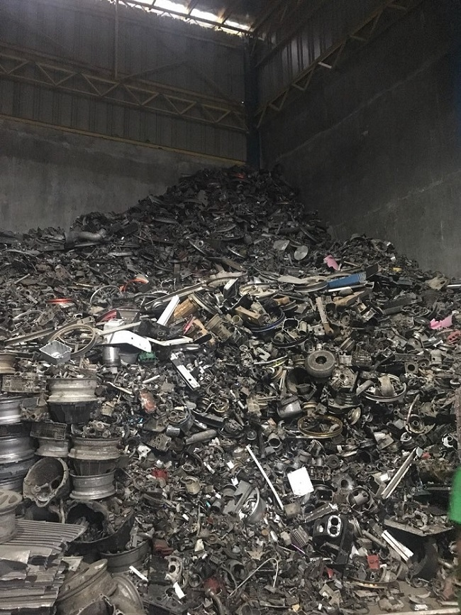 75 Tons per Month Aluminium Tense Scrap for Sale