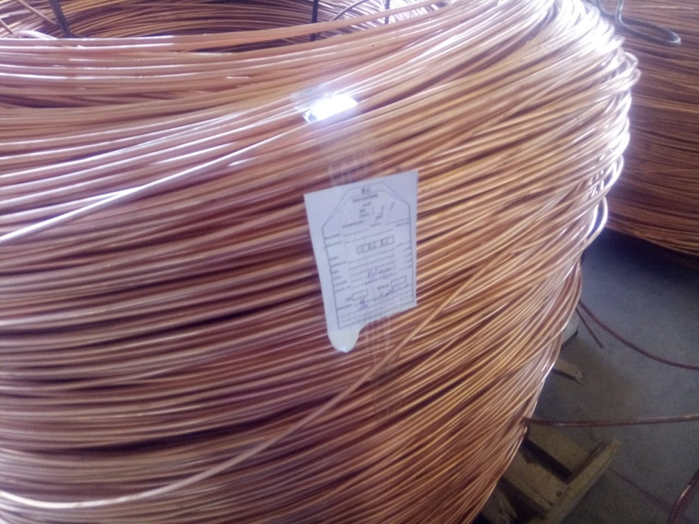 500 MT Semi Finished 8MM Copper Rods for Sale