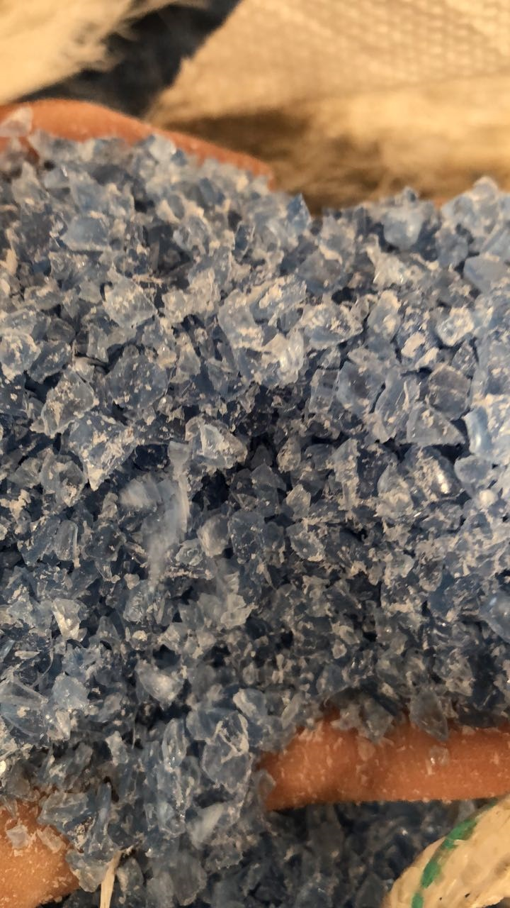 PET Preform Regrind Blue Tint 17 MT for Sale