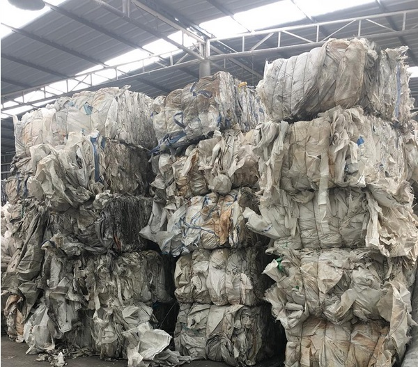 PP Big Bags Scrap 60 Tons for Sale