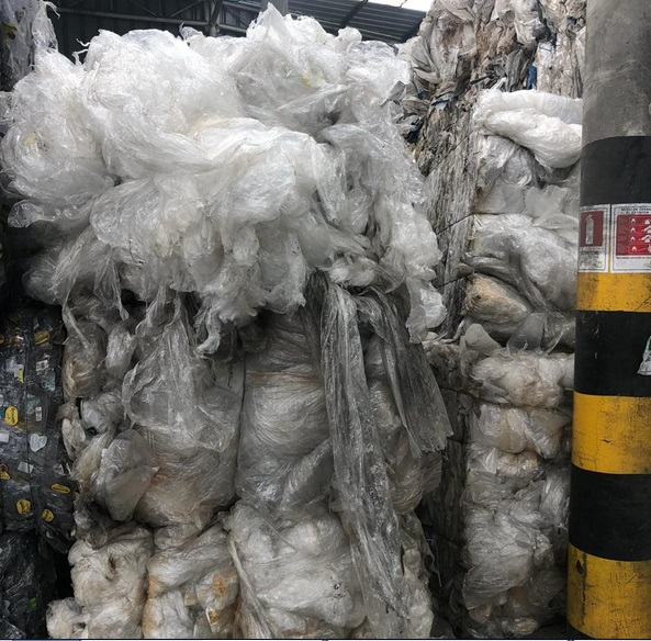 20 Tons Stretch Film LDPE Scrap on Regular Sale