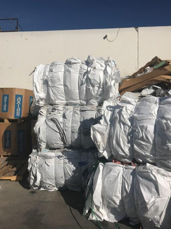 18 MT per Container PP Supersac Bags Scrap for Sale