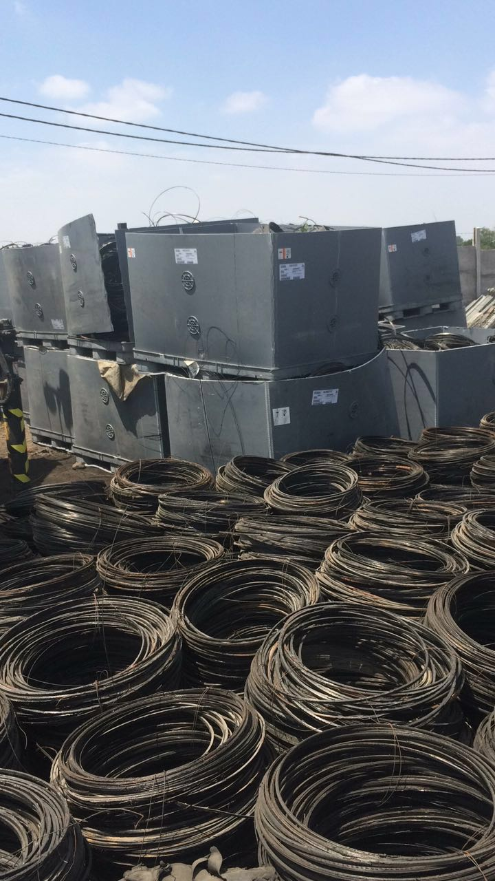 Tyre Bead Wire Scrap 40 MT per Month for Sale