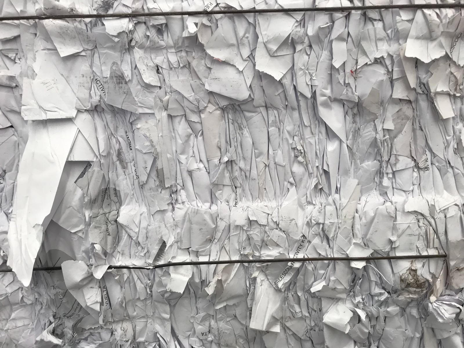 500 MT Hard White Office Paper Scrap in Bales for Sale