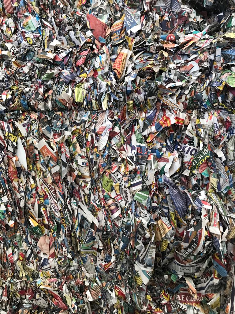 News Print Magazine Scrap Colored 500 Tons on Regular Sale