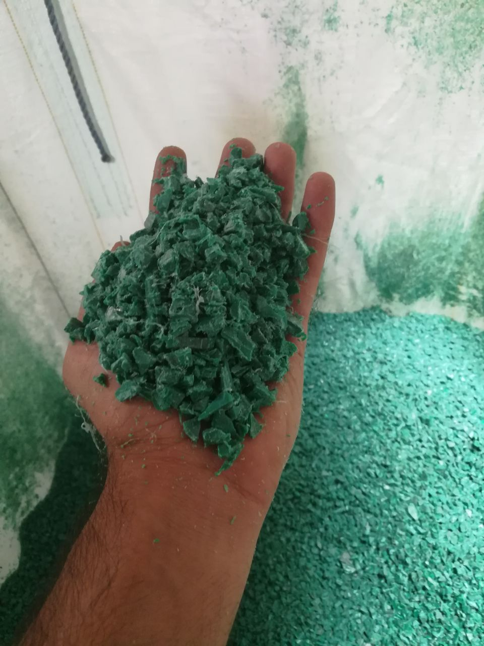 25 MT HDPE Injection Pallet Regrind @ 620 US $ for Sale