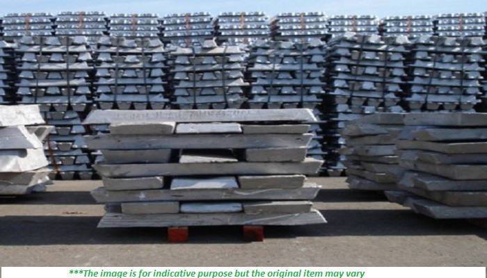 10000 MT × 12 Aluminium Ingots for Sale