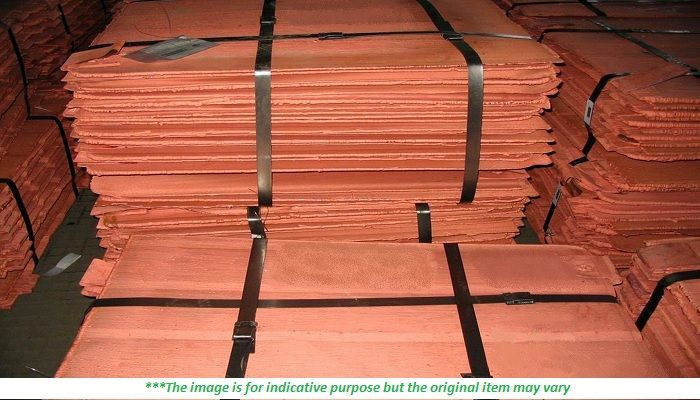 5000 MT x 12 Copper Cathode Scrap for Sale