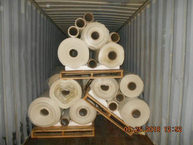 2 Loads PET White Rolls Scrap Ready for Sale