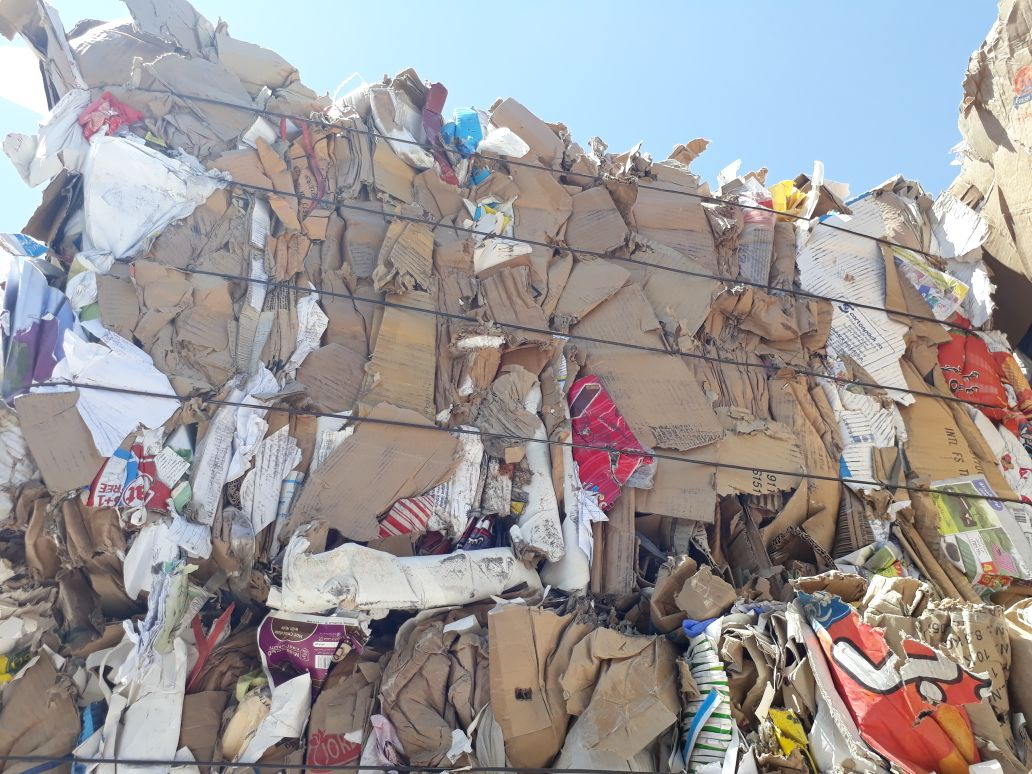 Baled OCC #11 waste paper scrap of 2000MT for sale