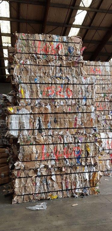 500 Tons OCC Scrap for Sale