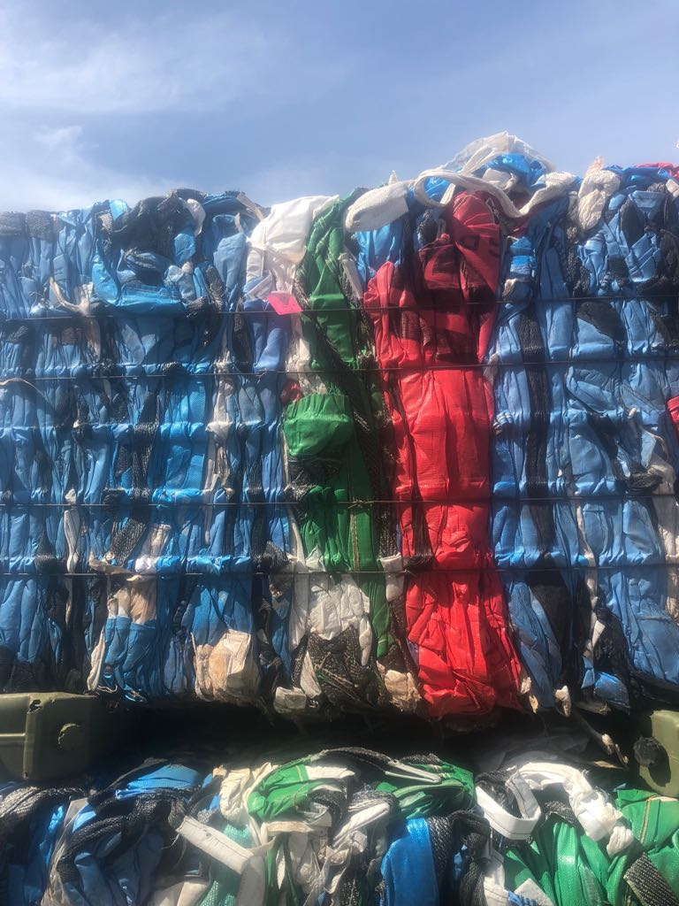 19.5 MT PP Bags Scrap for Sale