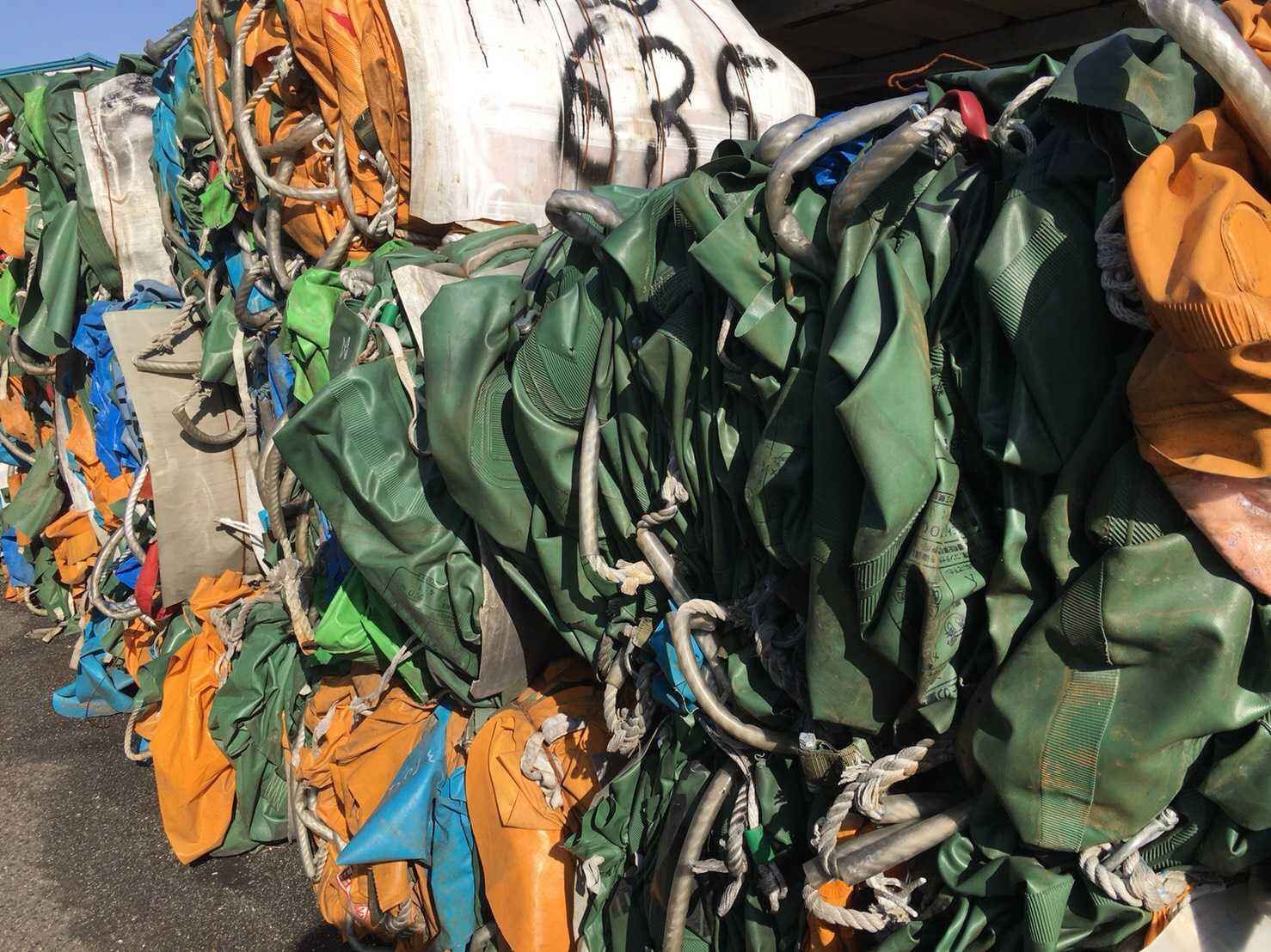 Used PVC Bag Scrap 25 MT for Sale from Japan
