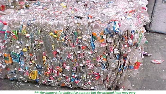 4-6 Containers PET Bottles Scrap for Sale
