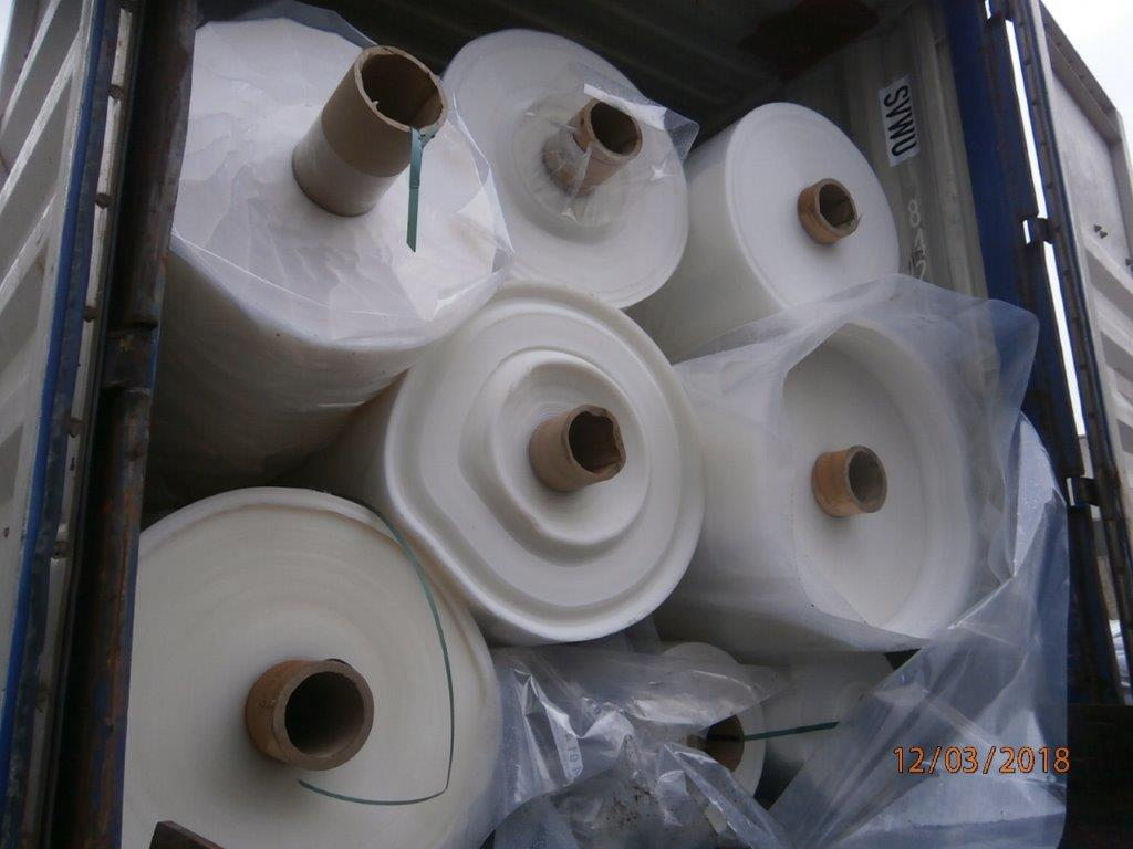 Natural PE/PA Rolls Scrap 25 MT for Sale