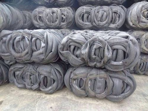 10000 MT Used Tyres Scrap in Bales for Sale