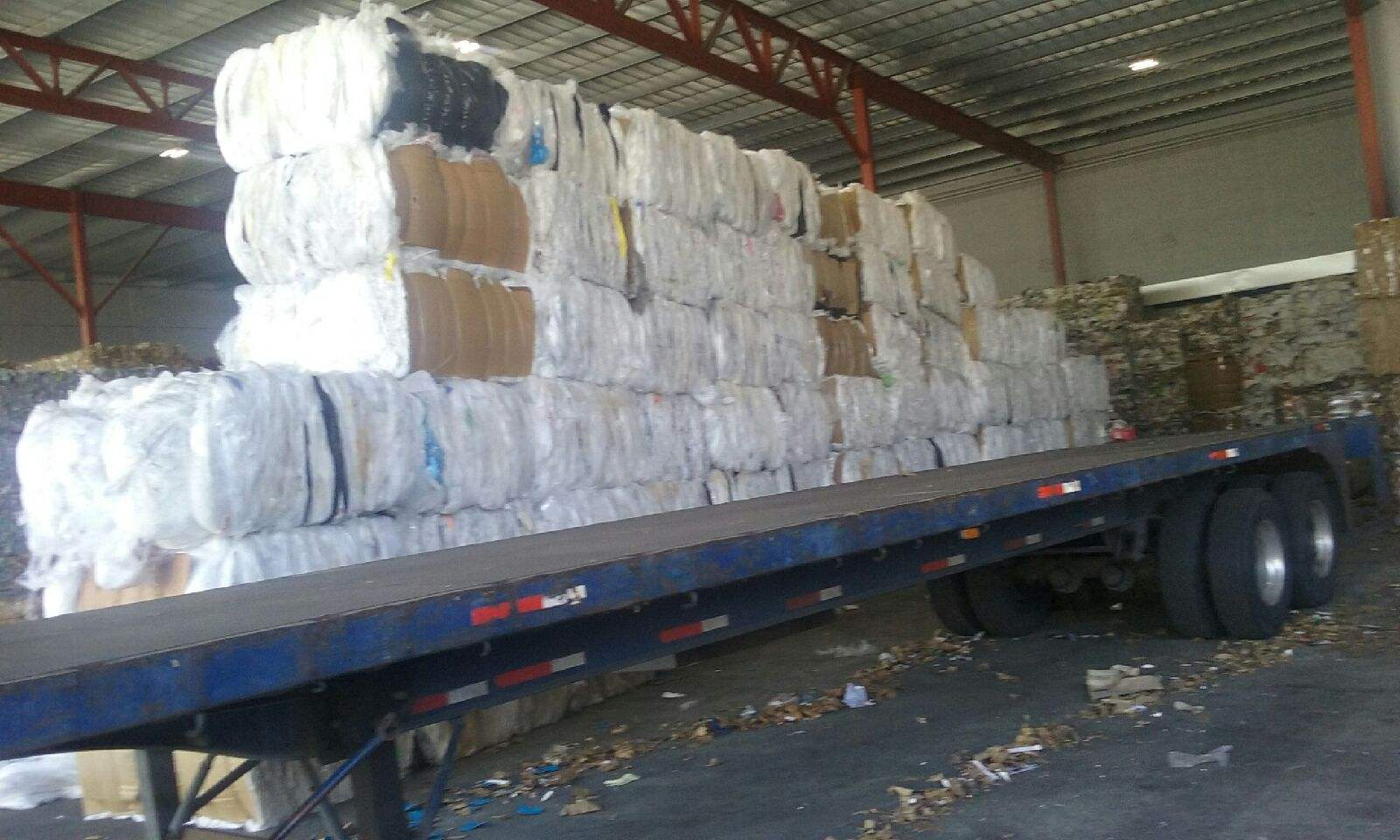 Ldpe Pet Plastic Film Rolls Scrap