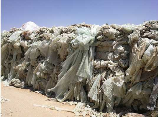 Offering LDPE Agri Film Scrap 300 Tons per Month in White, Green and Black Color