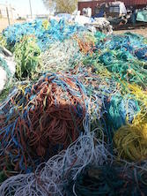 40,000 lb per Container PP Twine Scrap in Bales for Sale