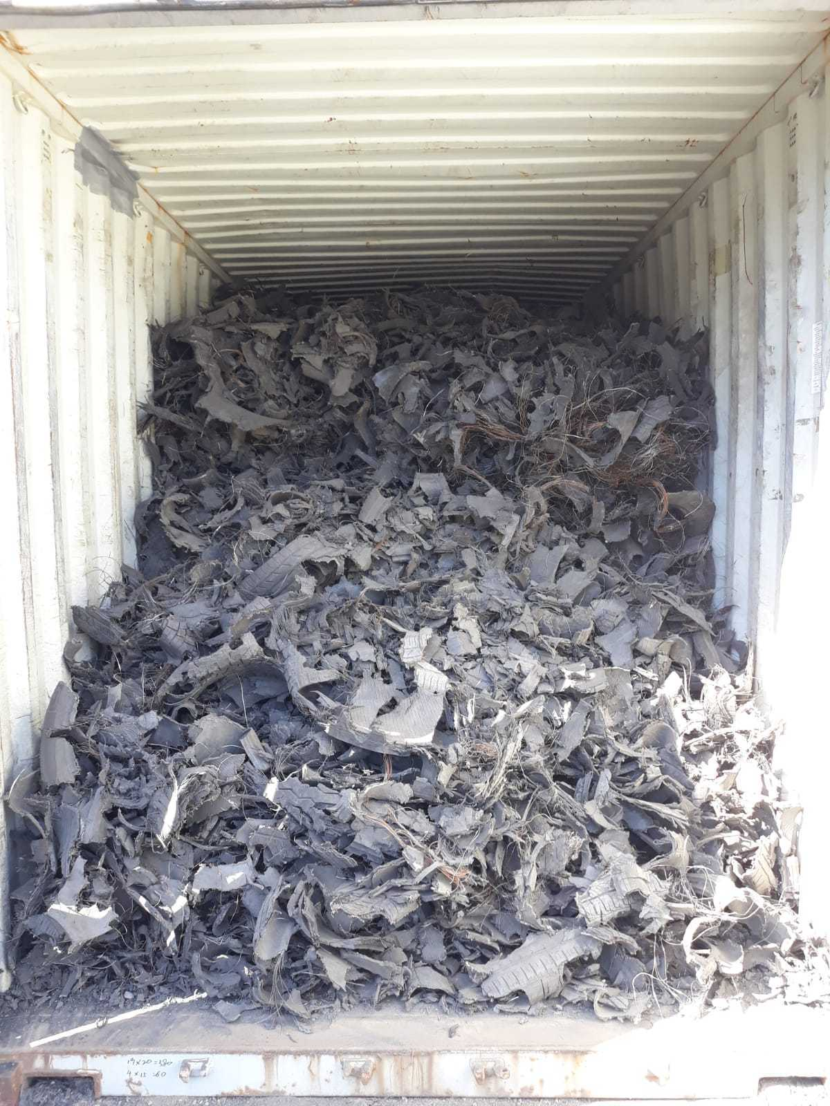 Shredded Tyre Scrap 10000 MT for Sale