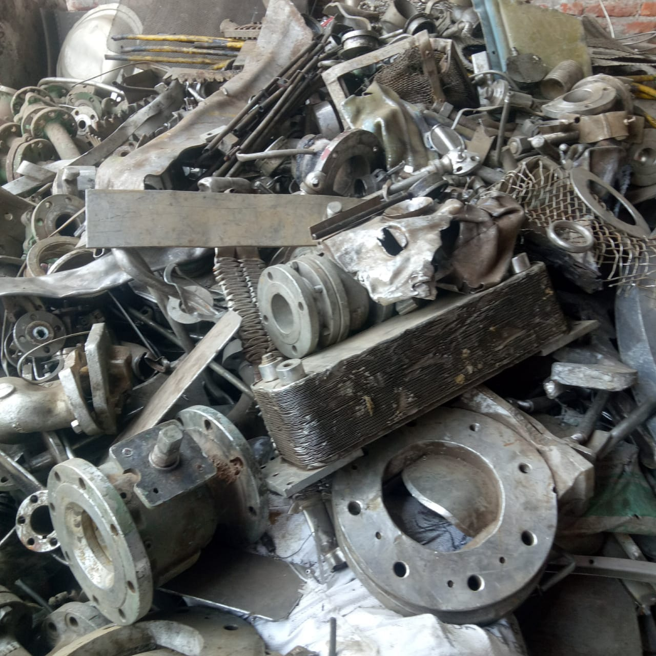 200 MT Stainless Steel Scrap 200/300/400 Series for Sale
