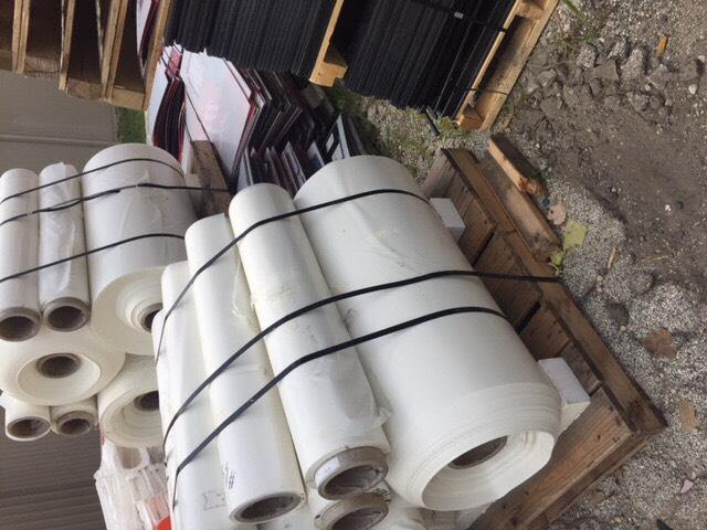 PET White Roll Scrap 1 Load Ready for Sale