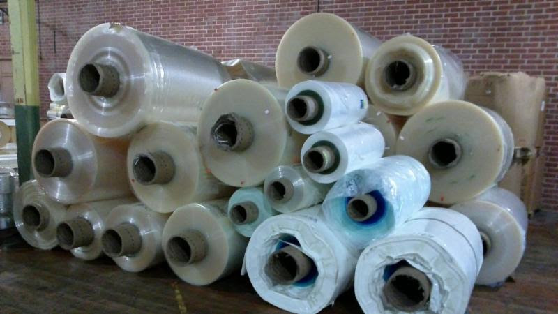 Clear LDPE Roll Scrap Co-extruded with Nylon for Sale