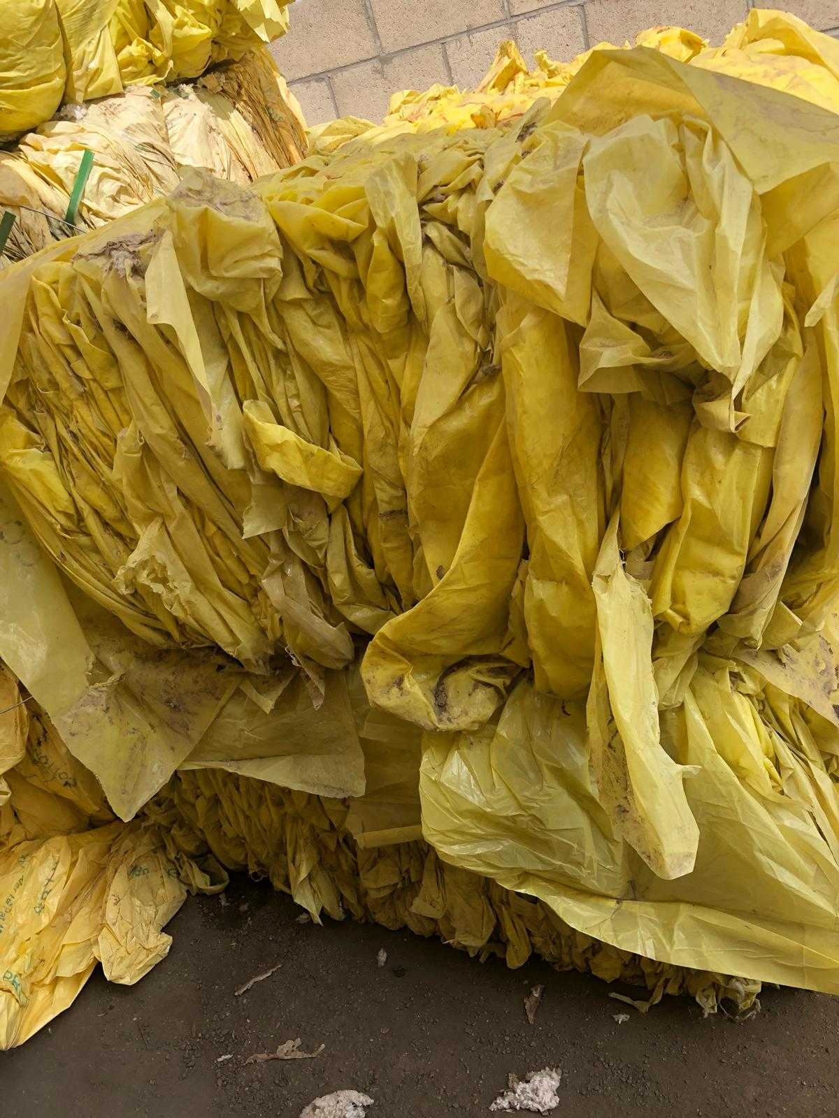 LDPE Cotton Wrap Scrap 18MT / 40HC for Sale