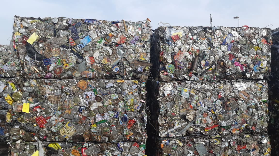 1000 MT Aluminium TIN Scrap for Sale in Bales