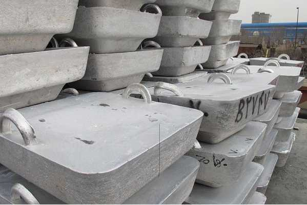 Diecasting Aluminium Ingots with 96% purity 100 MT on Regular Sale