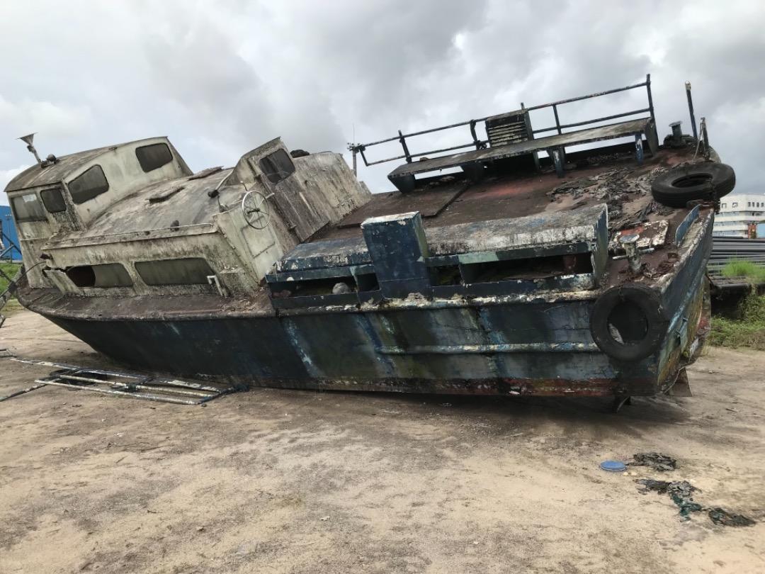 60 Tons Scrap Aluminium Vessel Boats for Sale, Aigle De Lynx