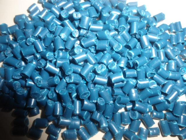 Blue HDPE Pellets Injection Grade 150 MT on Regular Sale