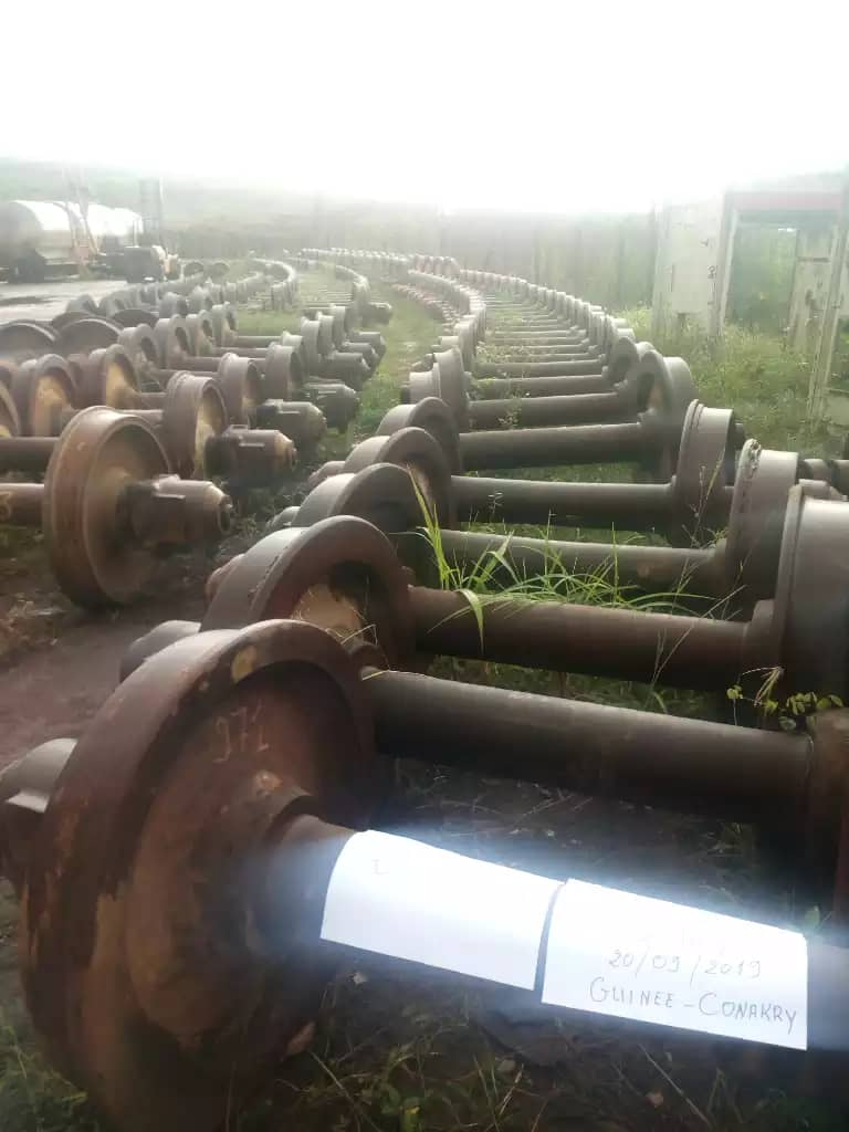 USED RAIL (WHEELS), Afro Metal Sarl, Conakry, Benin - sell