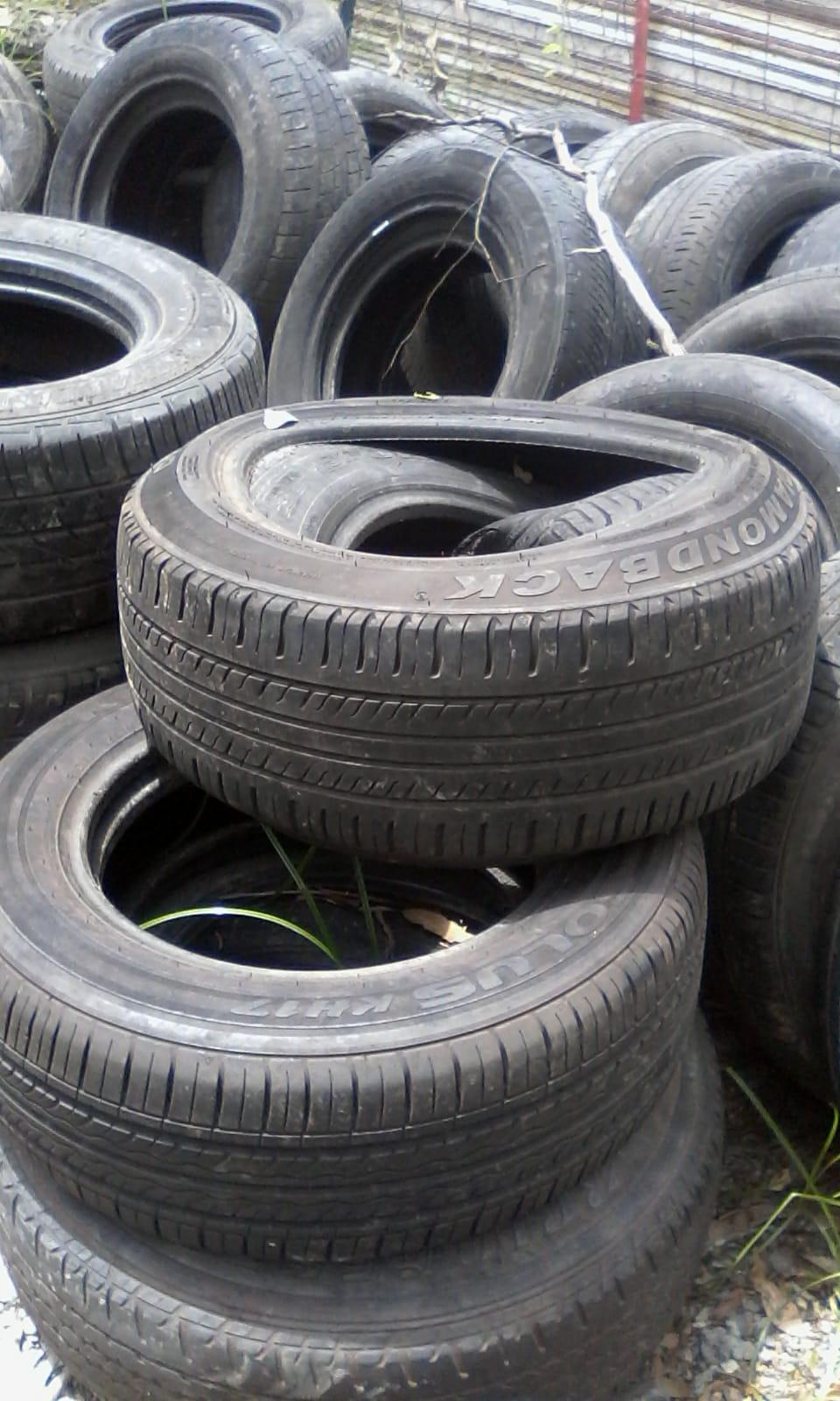 6000 Quantity Tyre Scrap for Sale @ $ 3 50, P D Products