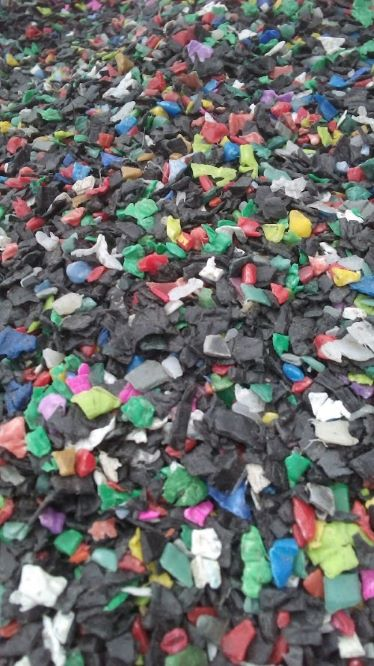 Mixed Color Injection Grade Crushed PP Regrind 50 MT for Sale