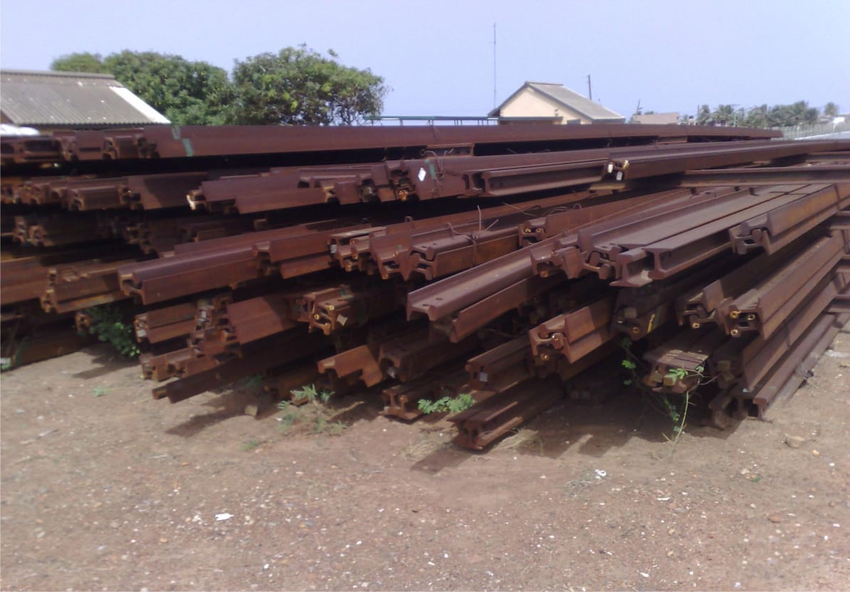 Used Rail Scrap 60000 MT for Sale, Rand General