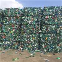 80 MT Green PET Bottles Scrap for Sale in Bales