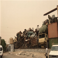 Huge Quantity of Demolished and Automotive scrap for Sale from Kuwait