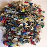 HDPE regrind mix