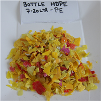 HDPE Flakes - Yellow & Red Color Mix 100 MT per Month for Sale