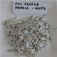 60 MT Clean White Rigid PVC Scrap from Windows & Doors Profile Scrap for Sale