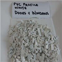250 MT Clean White Rigid PVC Scrap from Window and Door Profile Scrap for Sale