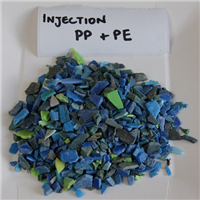 Injection Grade PP + PE Regrinds Mixed Colours for Sale
