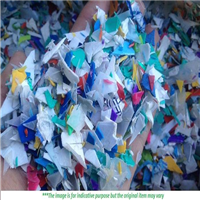 Supplying 400 Tons Mixed Color HDPE Flakes