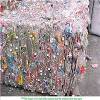 PET Bottle Scrap 500 Tons in Bales for Sale
