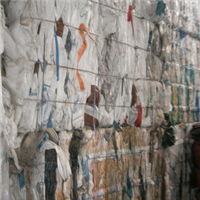 Post Consumer PP Big Bags Scrap 50 Tons for Sale