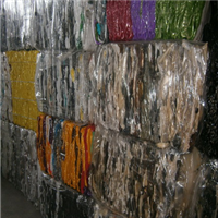 23 Tons Post Industrial Colored PET Bottle Scrap for Sale
