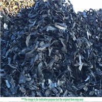 100x150mm Scrap Tyre Shred 4000 MT for Sale
