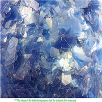 200 Tons per Month Hot Washed Light Blue PET Flakes for Sale