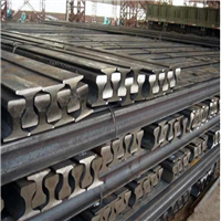 25000 Tons R50-R65 Used Rail Scrap Metal for Sale